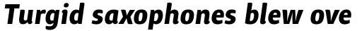 ITC Chino Std Bold Italic sample