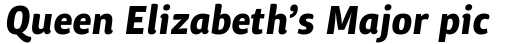 ITC Chino Pro Bold Italic sample
