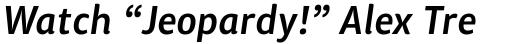 ITC Chino Std Medium Italic sample
