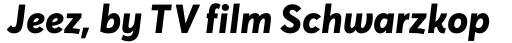 Averta PE ExtraBold Italic sample