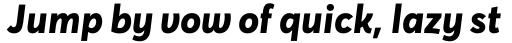 Averta Cyr ExtraBold Italic sample