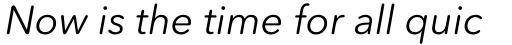 Avenir Next Rounded Std Italic sample
