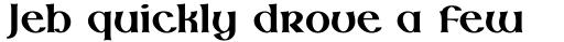Lindisfarne Nova BT Bold sample