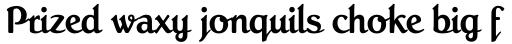 Roman Script Regular sample
