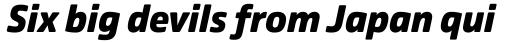 Comspot Black Italic sample