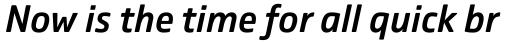 Comspot Medium Italic sample