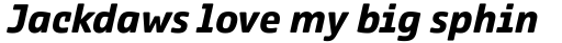 Comspot Tec Bold Italic sample