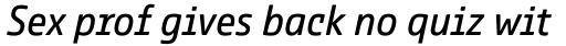 Comspot Tec Italic sample