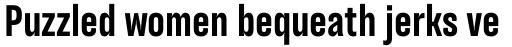TT Backwards Sans Bold sample