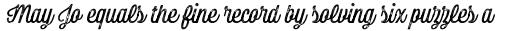 Bolton Print Script Regular sample