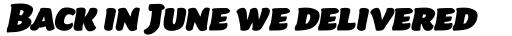 Beefcakes Pro Italic sample