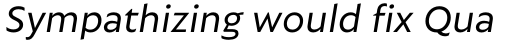 Autor Regular Italic sample