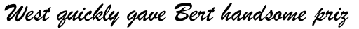 Brush Script sample