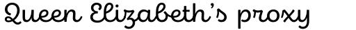 Eldwin Script Regular sample