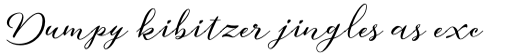 Aether Rain Bold sample