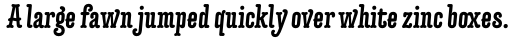 Forjada Bold Italic sample