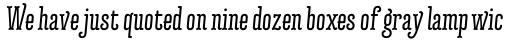 Forjada Regular Italic sample