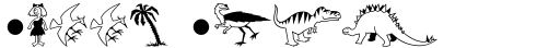 Dinosaurs Regular sample