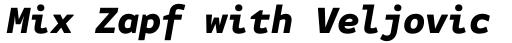 FF Attribute Mono Black Italic sample