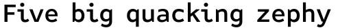 FF Attribute Text Medium sample