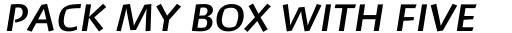 David Hadash Script Medium sample