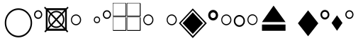 General Symbols 5 sample