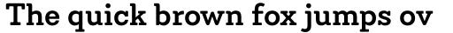 Emy Slab Semi Bold sample
