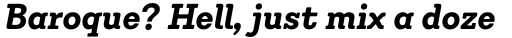 Emy Slab Alt Bold Italic sample
