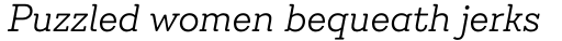 Emy Slab Alt Light Italic sample