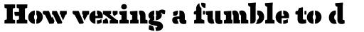 Anaphora Stencil Fat sample