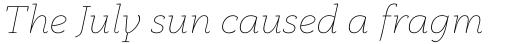 Anaphora Thin Italic sample