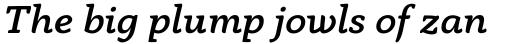 Anaphora Medium Italic sample