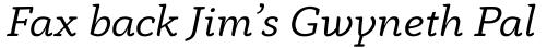 Anaphora Italic sample