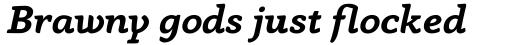 Anaphora Bold Italic sample