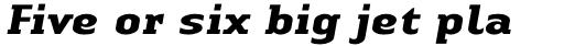 Linotype Authentic Serif Pro Bold Italic sample