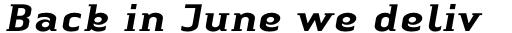 Linotype Authentic Small Serif Std Medium Italic sample