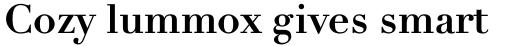Linotype Didot eText Std Bold sample