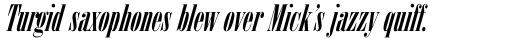 Arsis Std Italic sample