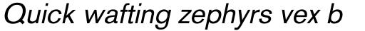 Basic Commercial Pro Italic sample