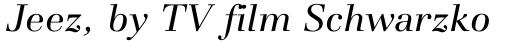 Basilia Pro Italic sample