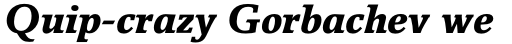 Breughel Std 76 Black Italic sample