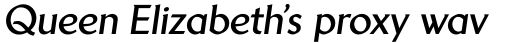 Brewery No 2 Paneuropean Bold Italic sample