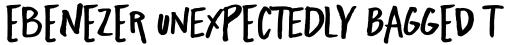 Freehand Blockletter Bold sample