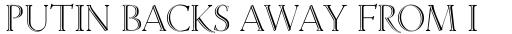 Linotype Venezia Initiale sample