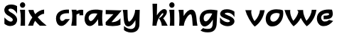 Linotype Charon Pro Bold sample