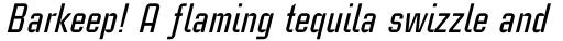 Linotype CaseStudyNo1 Medium Italic sample