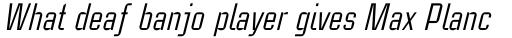 Linotype CaseStudyNo1 Italic sample