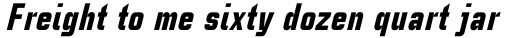 Linotype CaseStudyNo1 Black Italic sample