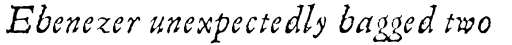 Linotype Compendio Pro Italic sample