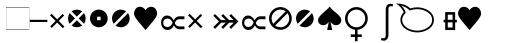 Linotype Heureka Glyphs Regular sample